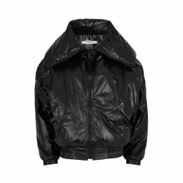 Givenchy Black Padded Shell Coat