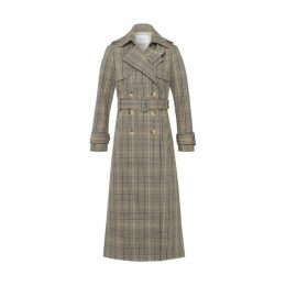 Ivy & Oak Double-breasted Trenchcoat Multicoloured Check