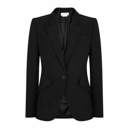 Alexander McQueen Black Tailored Blazer