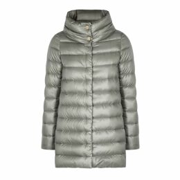 Herno Icon Grey Shell Coat