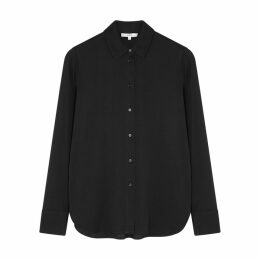 Herno Elisa Fur-trimmed Shell Coat