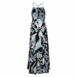 Free People Heat Wave Floral-print Maxi Dress