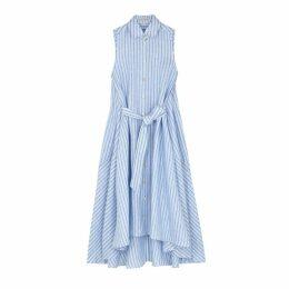Palmer//harding Sedona Blue Shirt Dress