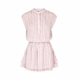 Rails Angelina Pink Linen-blend Dress