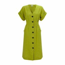 Jigsaw Linen Button Through Dress