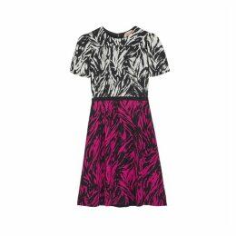 No.21 Zebra-print Dress