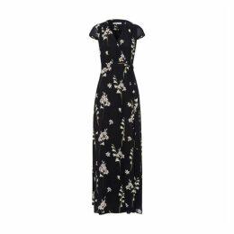 Ivy & Oak Long Printed Wrap Dress