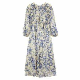 Zimmermann Verity Floral-print Silk Maxi Dress