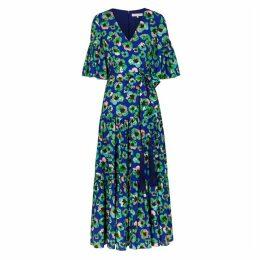 Borgo De Nor Teodora Floral-print Maxi Dress