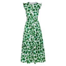 Borgo De Nor Gabriella Floral-print Cotton Maxi Dress