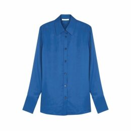 Helmut Lang Blue Shell Shirt