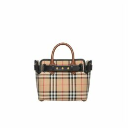 Burberry The Mini Vintage Check Triple Stud Belt Bag
