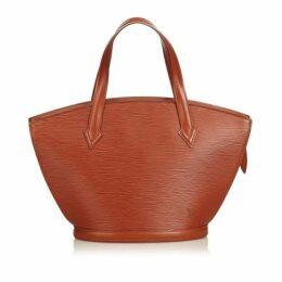 Louis Vuitton Brown Epi Saint Jacques Pm