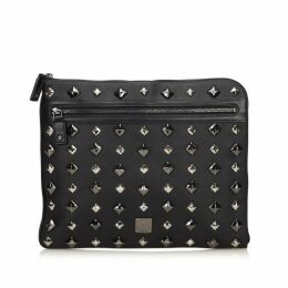MCM Black Clutch Bag