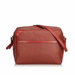 Louis Vuitton Red Challenge Line Crossbody Bag