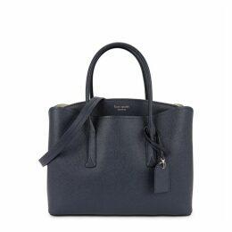Kate Spade New York Margaux Large Navy Shoulder Bag