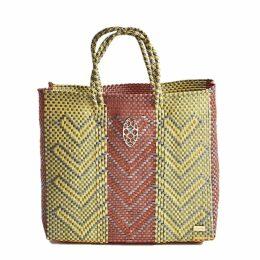 Lucy Engels - Large Makeup Bag Tropical Grey
