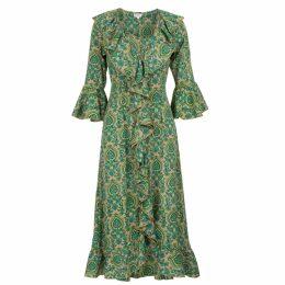 Jessica Russell Flint - Mini Vegan Make Up Bag In Cactus & Doodle Bugs