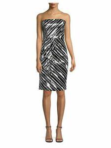 Enid Strapless Sequin Bodycon Dress