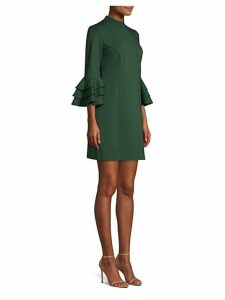 Dylan Tiered Bell Sleeve Shift Dress
