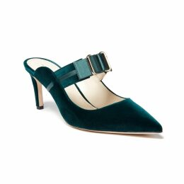 Katherine Hooker - Sadie Dress In Silver Kaleidoscope Silk