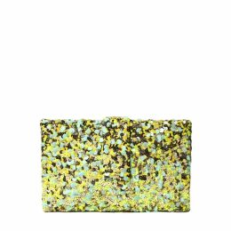 Simitri - Lime Kitsch Clutch