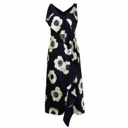 Hugo Floral Printed Sleeveless Dress