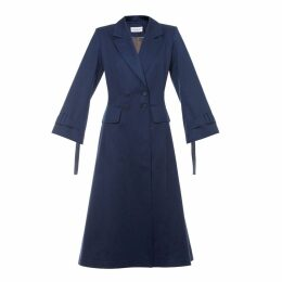 Talented - A Line Coat Blue