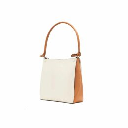 VHNY - Black Leather Organza Short Dress