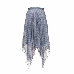 DIANA ARNO - Lola Asymmetrical Pleated Skirt