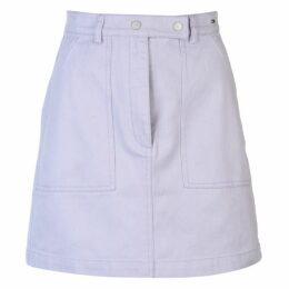 Tommy Jeans Tommy Denim Mini Skirt Ladies