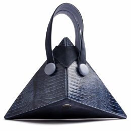 DIANA ARNO - Emma Lace Midi Skirt In Blue