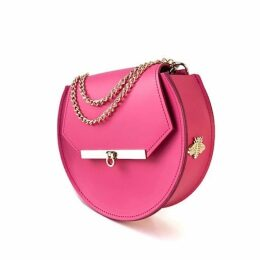 Angela Valentine Handbags - Loel Mini Bee Crossbody Bag In Pink Punch