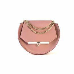 Angela Valentine Handbags - Loel Crossbody Circle Bag In Blush Pink