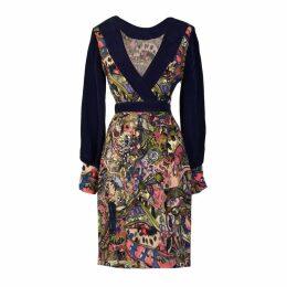 Sarvin - Aria Hand-Painted Persian Print Mini Dress