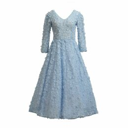 MATSOUR'I - Blue Jasmin Cocktail Dress