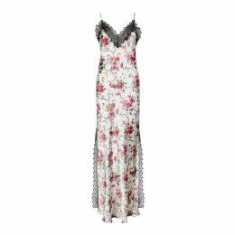 NASON - Tallulah Silk-Blend Floral Slip Dress