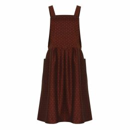 Bo Carter - Candy Dress Burgundy Dots