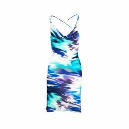 Vivienne Hu - Button-Up Dress With Lapel & Lace Details