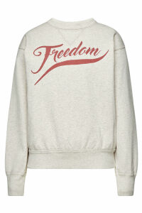 Isabel Marant toile Rise Printed Cotton Sweatshirt