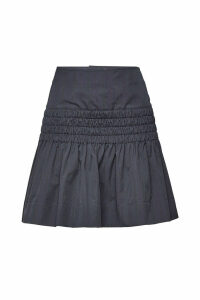 Isabel Marant toile Oliko Cotton Skirt with Ruffles