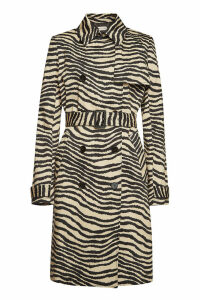 By Malene Birger Rainie Printed Cotton Trench Coat