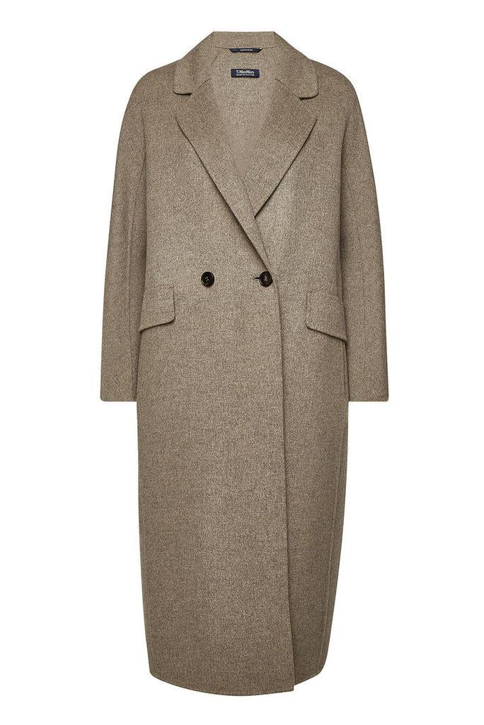 S Max Mara Cardi Virgin Wool Coat