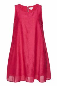 Velvet Esther Mini Dress in Cotton and Silk
