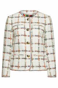 Escada Barha Cotton Blazer with Wool