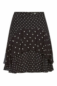 Karl Lagerfeld Polka Dot Skirt