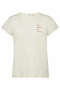 Rag & Bone/JEAN Mother Nature Printed Cotton T-Shirt