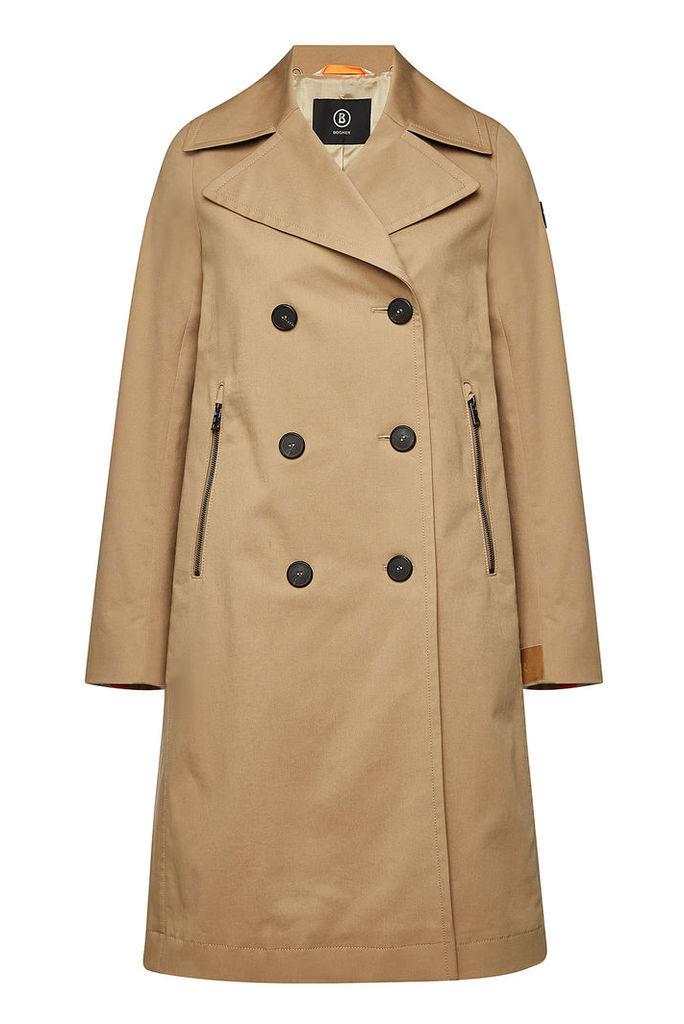 Bogner Becca Cotton Trench Coat