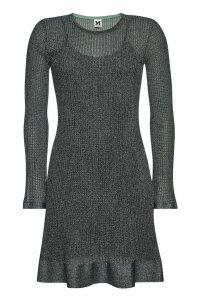 M Missoni Metallic Mini Dress