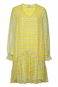 ESSENTIEL ANTWERP Checked Mini Dress